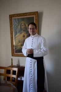 Canon Richard von Menshengen, ICKSP St Gianna Oratory, Tucson AZ Photo credit TLM of SF