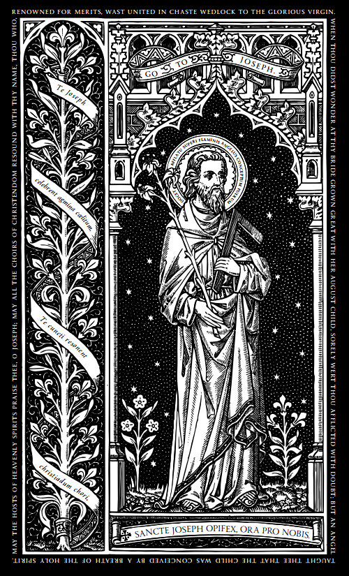 St Joseph the Worker may 1
