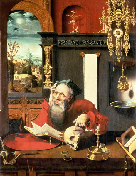St-Jerome-in-his-Study-xx-Pieter-Coecke-van-Aelst