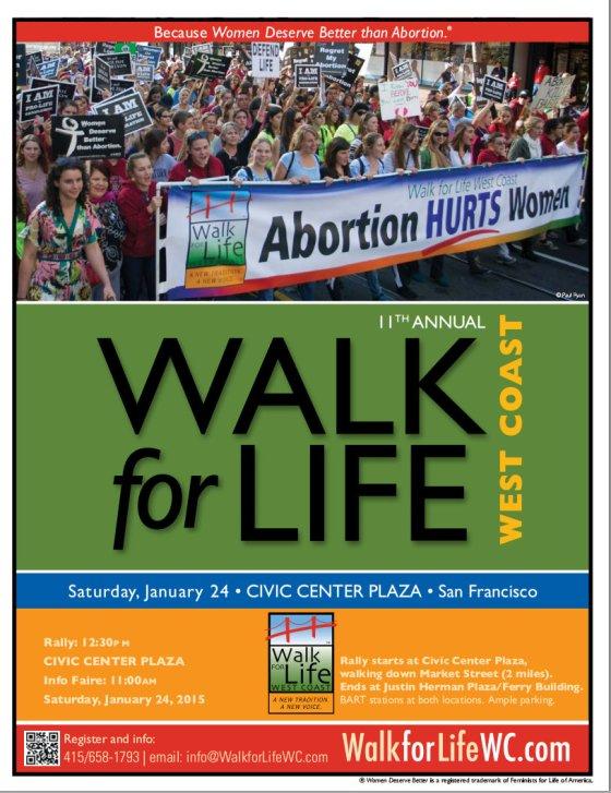 West Coast Walk for Life2015