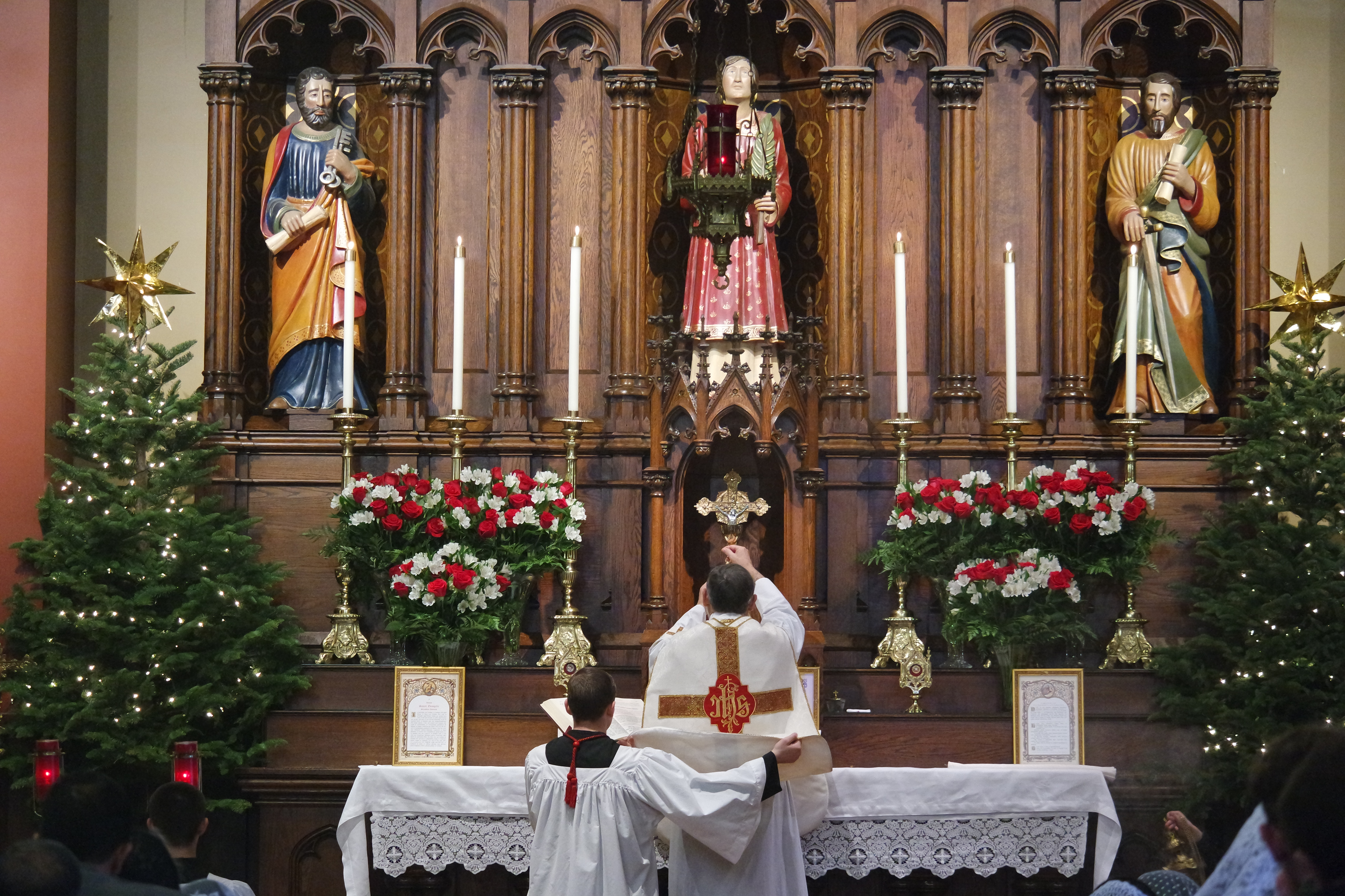 Photos: Sunday in the Octave of Christmas 2015 (St. Stephen\'s ...